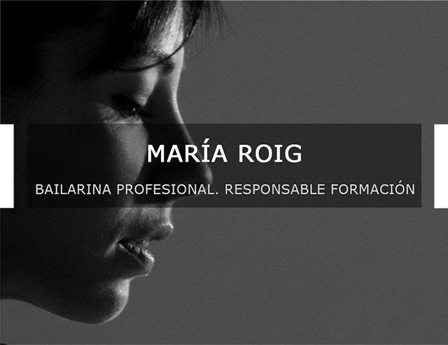 profesora María Roig