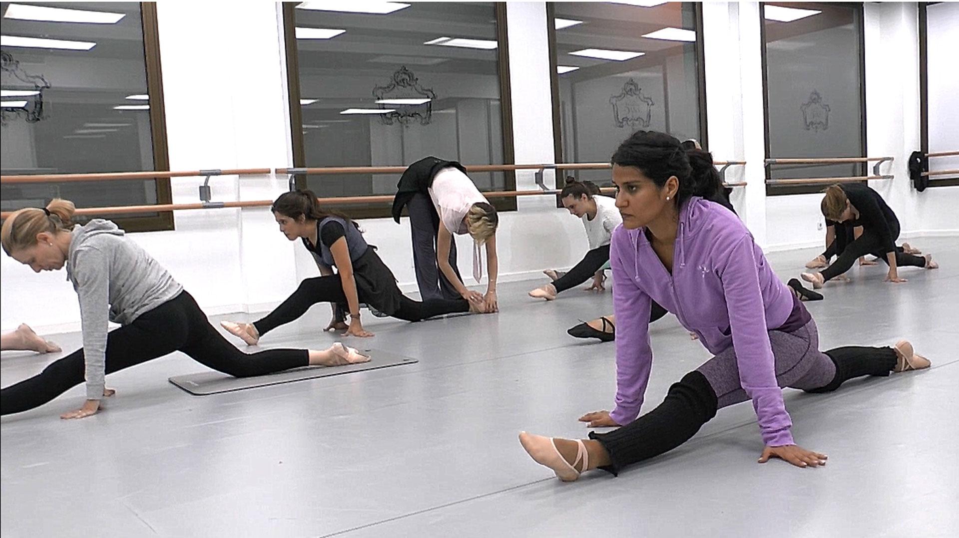clase fitness de ballet