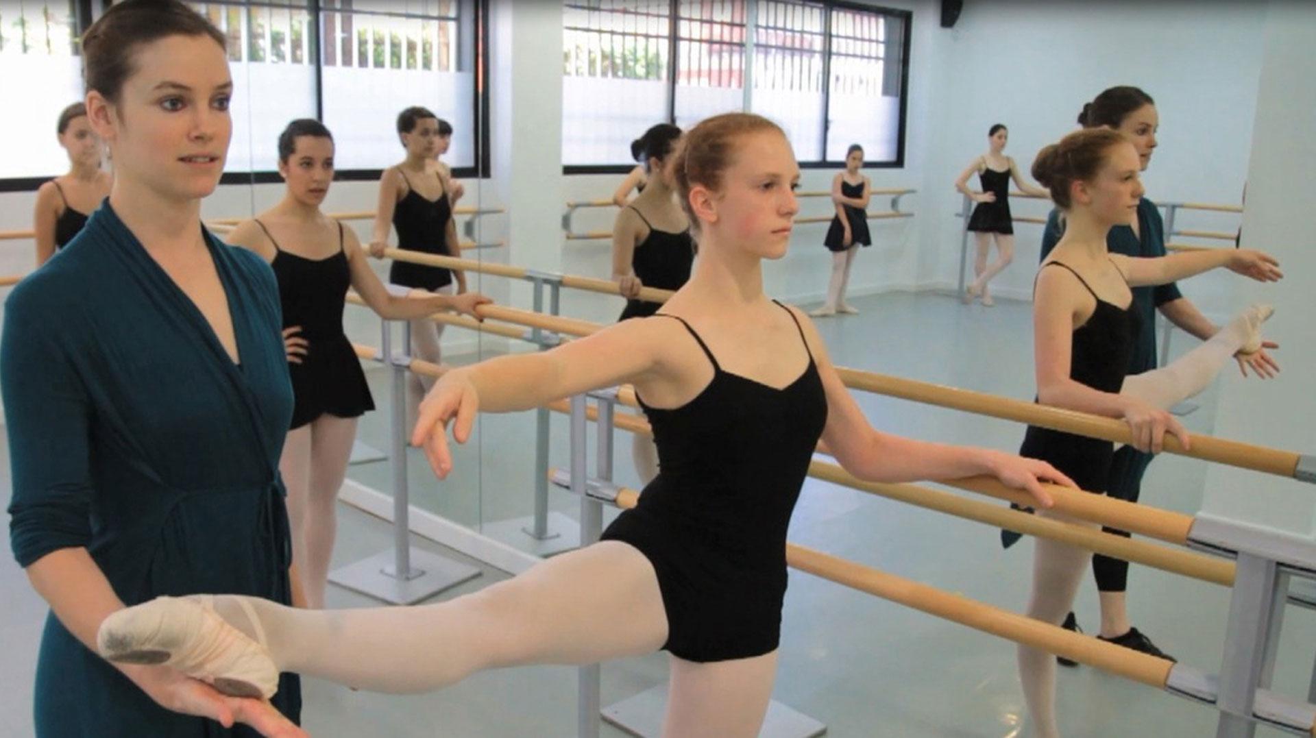 clases de ballet nivel avanzado